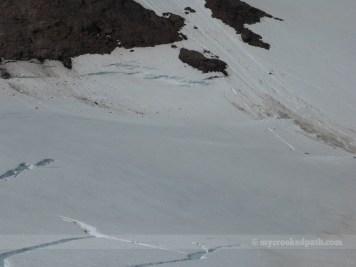 More cracks in the Cool Glacier