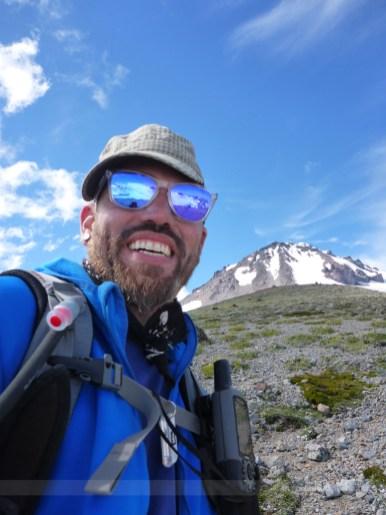 Glacier selfie