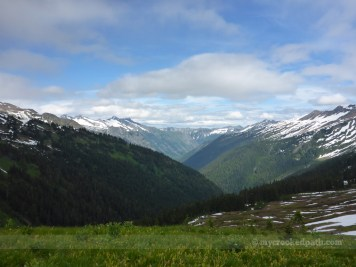 North towards Tenpeak Mountain