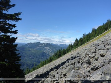 McClellan Butte to the west