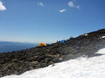 Sweet spot for camp - below the Lunch Counter