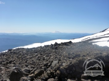 St. Helens from camp