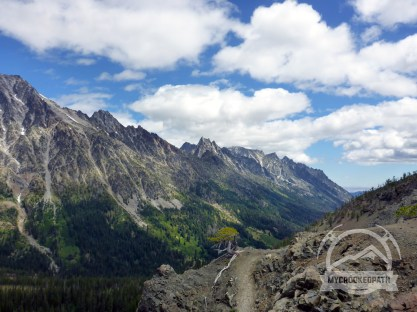 Looking toward the Enchantments