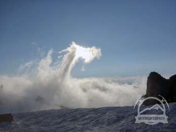 Cloud dragon devouring the sun