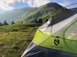 Camp at White Pass