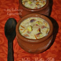 Malai Matka Kulfi (Indian Ice Cream)