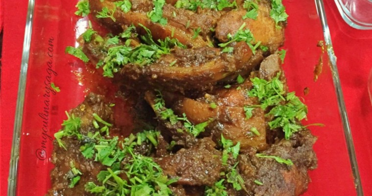 Pandi Curry or Coorg Pork Curry