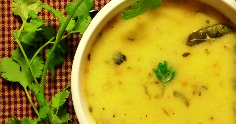 Kadhi – Indian Yogurt Soup