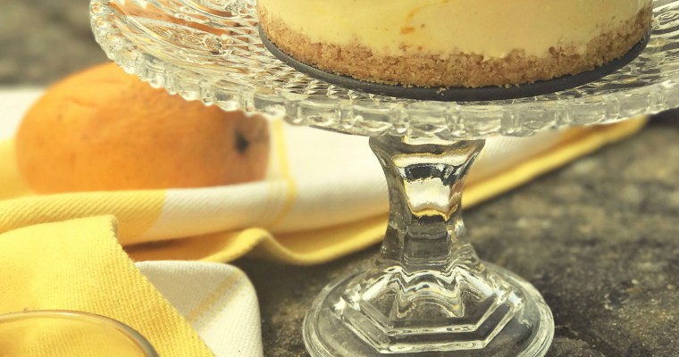 Mango Cheesecake – No Bake & Eggless