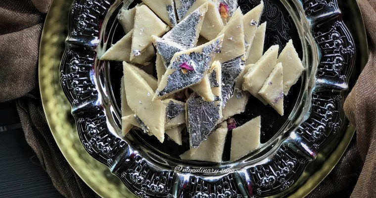 Kaju Katli – 2 ingredients only
