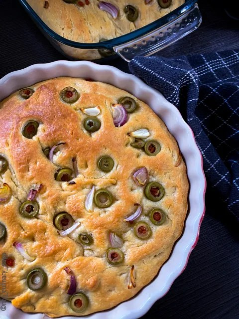 Olive & Onion Bread