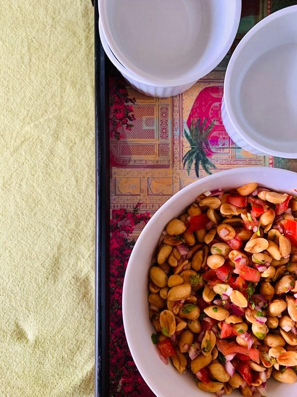 Masala Peanut Chaat / Salad