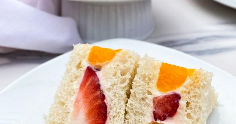 Fruit Sando/Japanese Fruit Sandwich