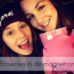Food: Brownie in de magnetron