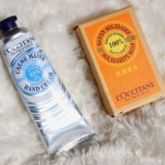 Review: L'occitane Shea soap & whipped hand cream