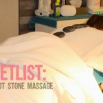 Bucketlist: hot stone massage