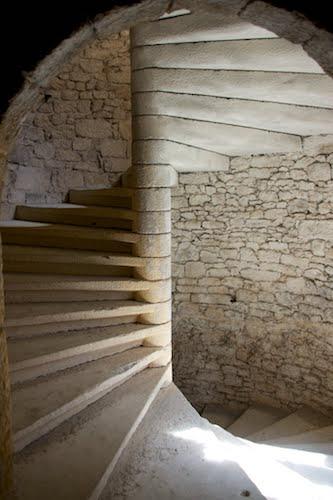 beynac stairs