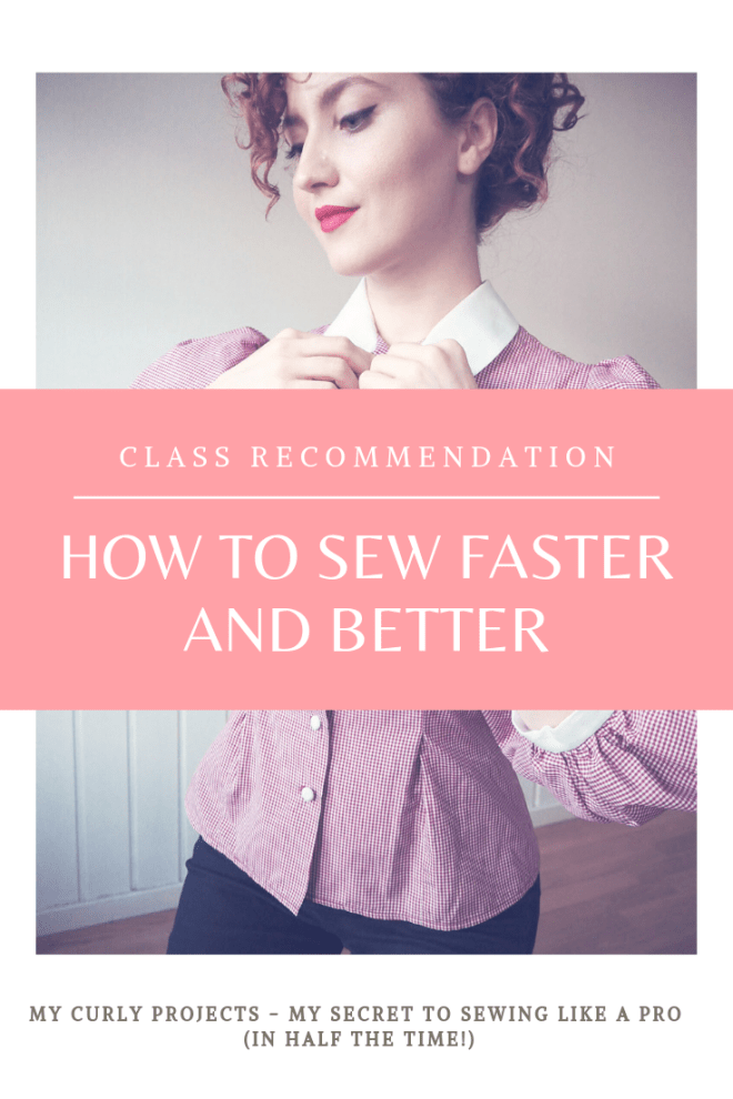 how ro sew faster, how to sew better, sew faster