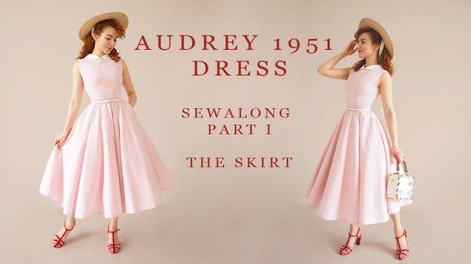 audrey 1951 Dress Sewalong