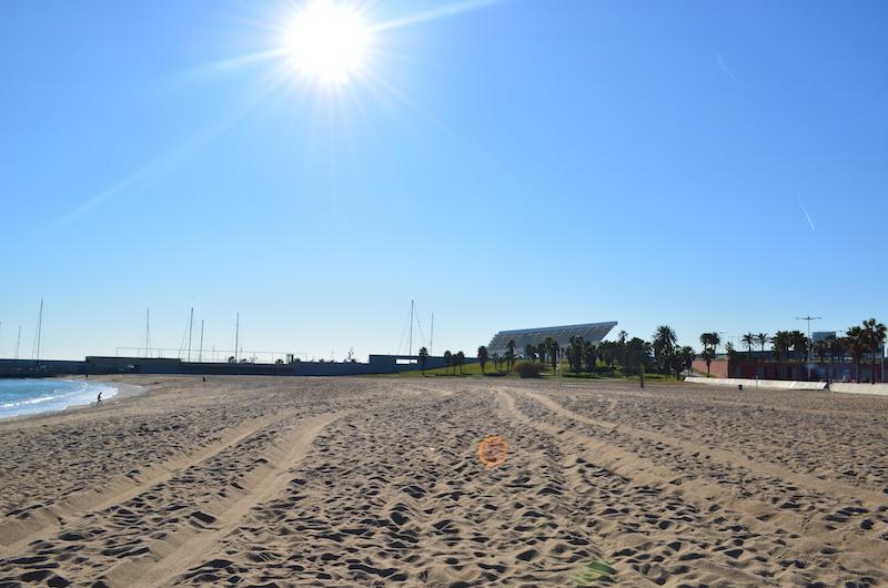 beach-strand-forum-barcelona