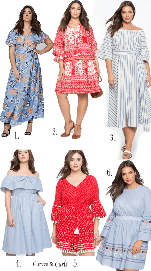 Plus Size Resort Wear- Dresses- Mycurvesandcurls