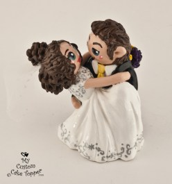 Swept off her feet! Cake Topper