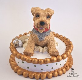 Bailey the Dog Cake Topper