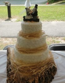 Haley's Opossum Wedding Cake Topper