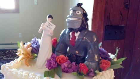 Kelsey's Gorilla Cake Topper
