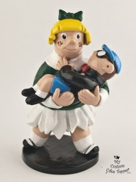 Little Lotta And Gerald Wedding Cake Topper