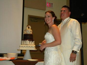 Nicole's Wedding Cake Topper