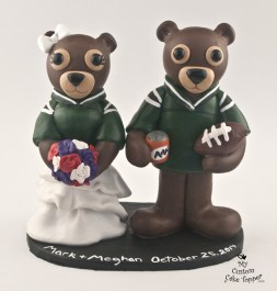 Rider Pride Gophers Wedding Cake Topper