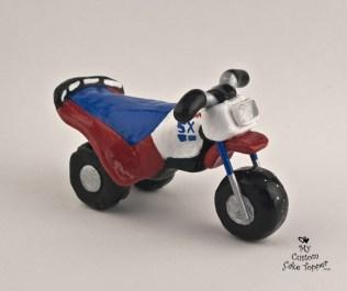 Three Wheel Bike Cake Topper