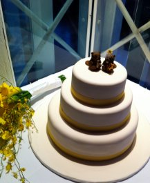 Beavers Wedding Cake Topper