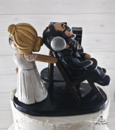Bride and Groom Wedding Cake Toppers