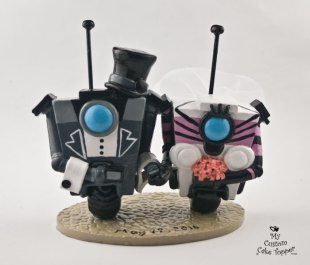 Gentleman Claptrap and his Bride