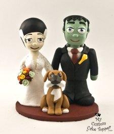 Frankenstein Bride and Groom