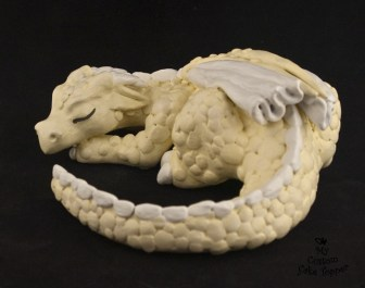 Dragon Sleeping Cake Topper