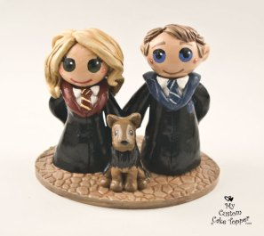 Bride and Groom Harry Potter Dog