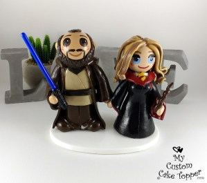Bride and Groom Harry Potter and Star Wars