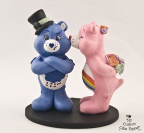 Care Bears Grumpy and Cheer Cake Topper