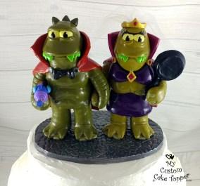 Futurama Aliens Lrrr and Ndnd Cake Topper