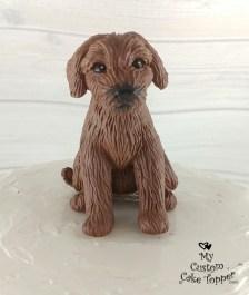 Doodle Dog Cake Topper