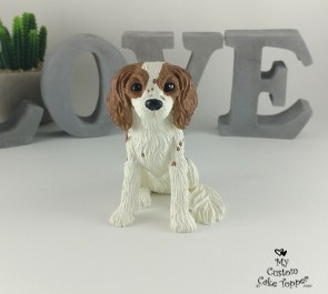 King Charles Cavalier Dog Cake Topper