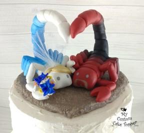 Scorpions Cake Topper