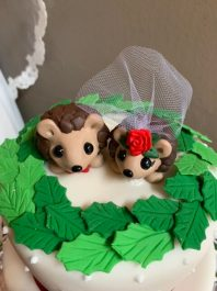 Stacy's Hedgehog Cake Topper 2