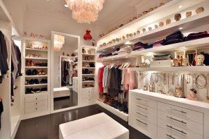 avoid fire hazards in your closet