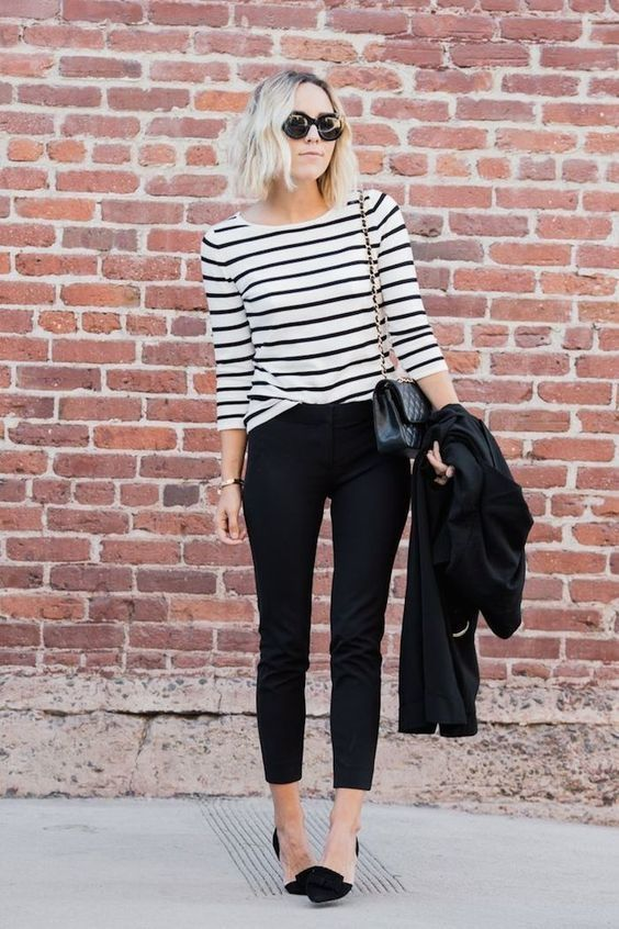 16-stripes-skinny-jeans-and-heels