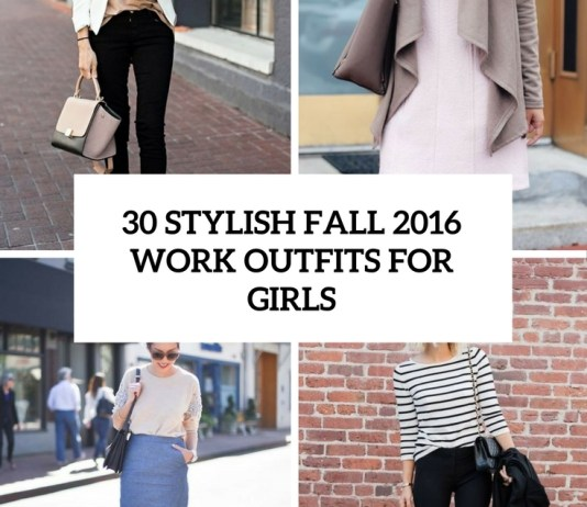Stylish Work Outfits for Fall