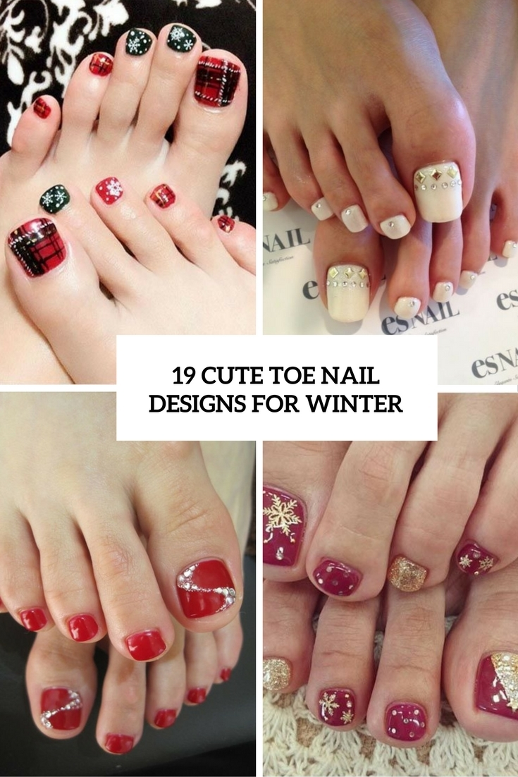 Toe Nail Design Ideas - Winter 2017